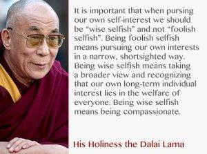 selfless-selfish