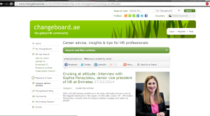 SVP HRBS's interview for HR portal