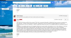 Edgar's e-mail