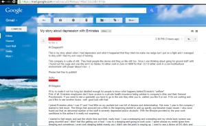 Crew's email.