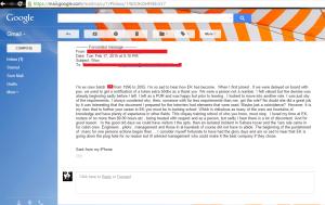 Former EK purser's e-mail